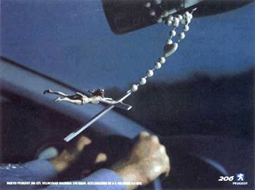 How to tell if a Catholic is driving too fas